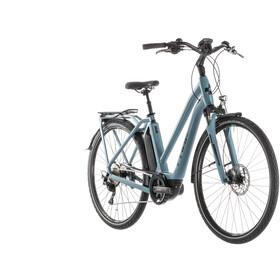 Cube Town Sport Hybrid Pro 400 sähköavusteinen kaupunkipyörä Trapez , sininen/petrooli